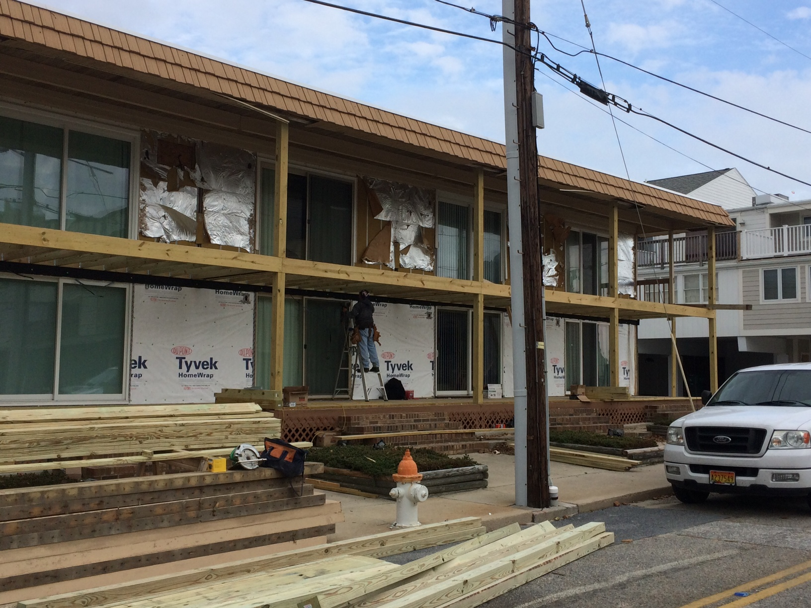 residential condo renovation construction Ocean City MD