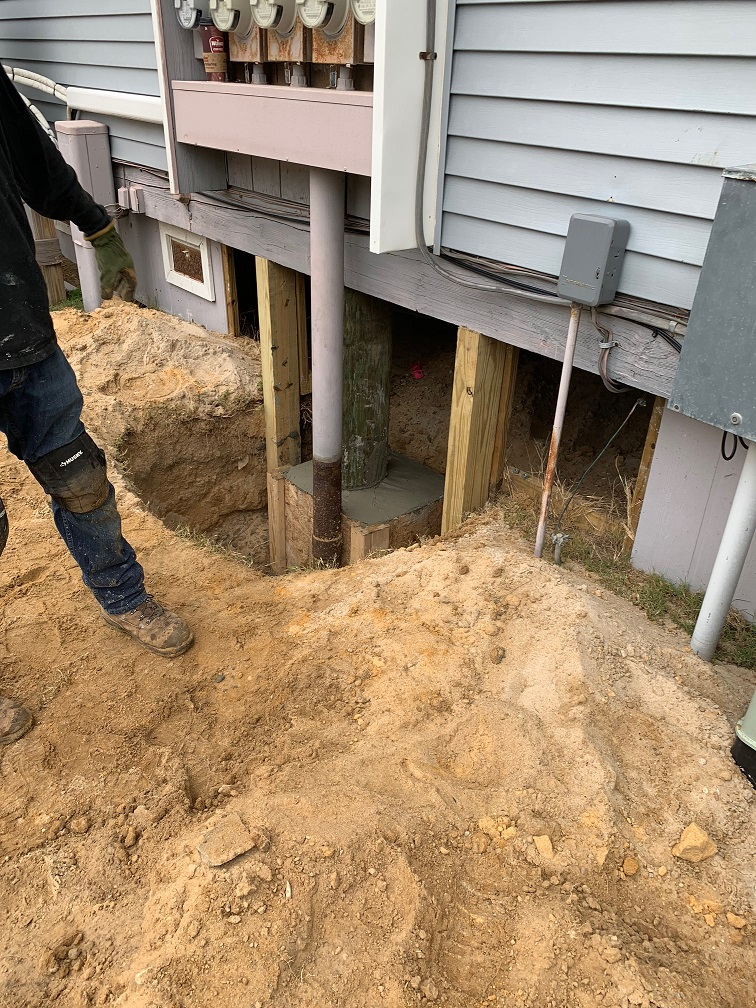 Rotten Condo Pilings Replacement