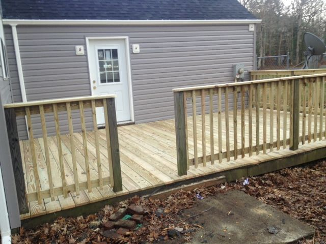 New Deck Installation in Ocean City, MD